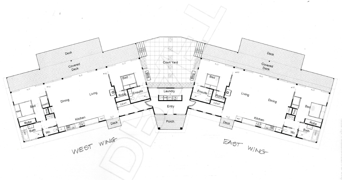 Snellings View Kangaroo Island - Floor Plan